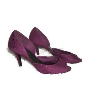 Purple Christian Siriano Heels Size 11